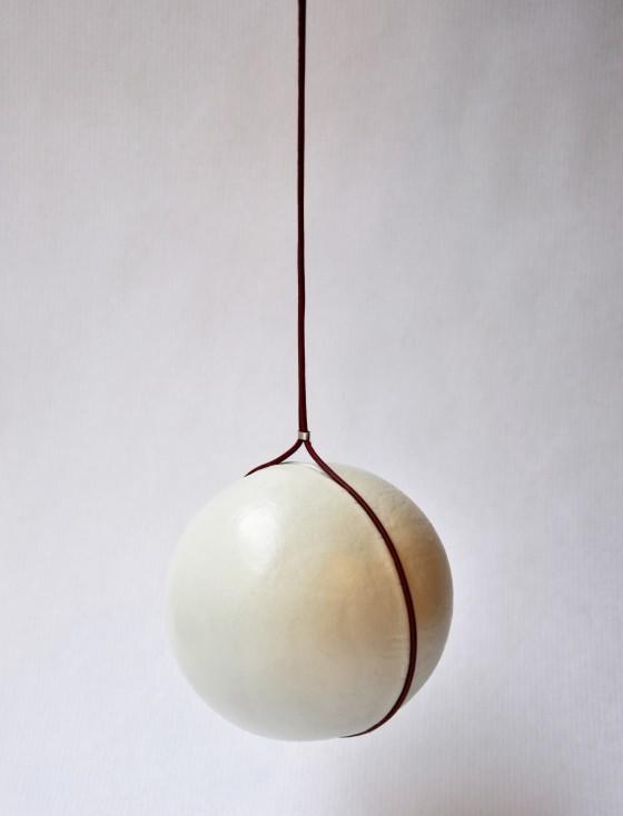 Sanna Svedstedt Leather necklaceTime
