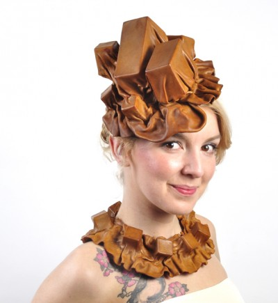 Svedestedt Leather jewelry art hat